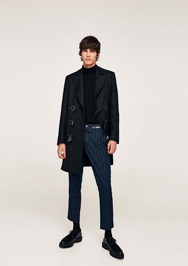креативное мужское пальто фото