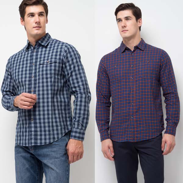 модные мужские рубашки осень-зима 2017-2018 фото