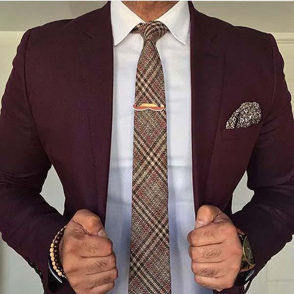 мужской пиджак марсала фото