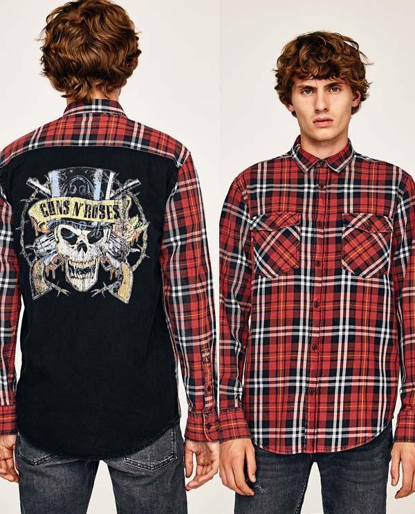 модная рубашка с 3д принтом фото