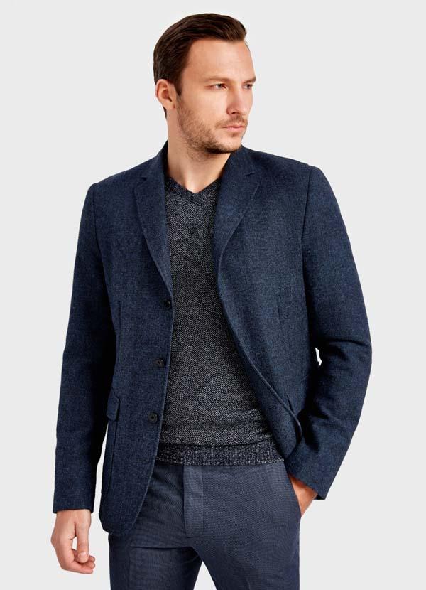 мужской зимний пиджак 2018 фото