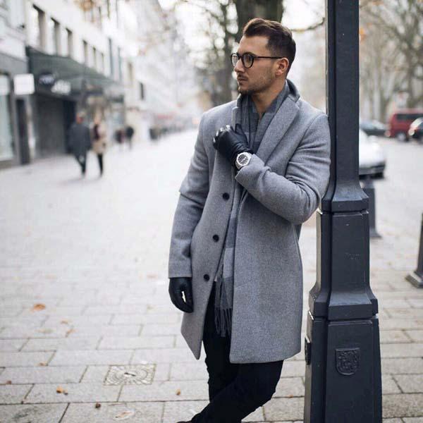 мужская зимняя мода 2018 фото