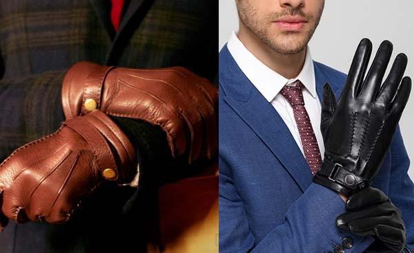 мужские перчатки 2018 фото