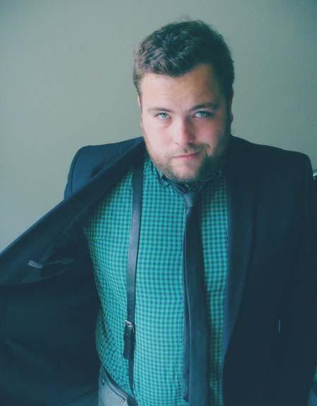 модный полный мужчина фото
