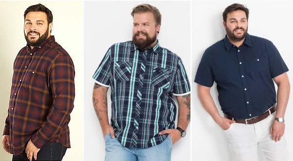 мужские рубашки 2018 большого размера фото