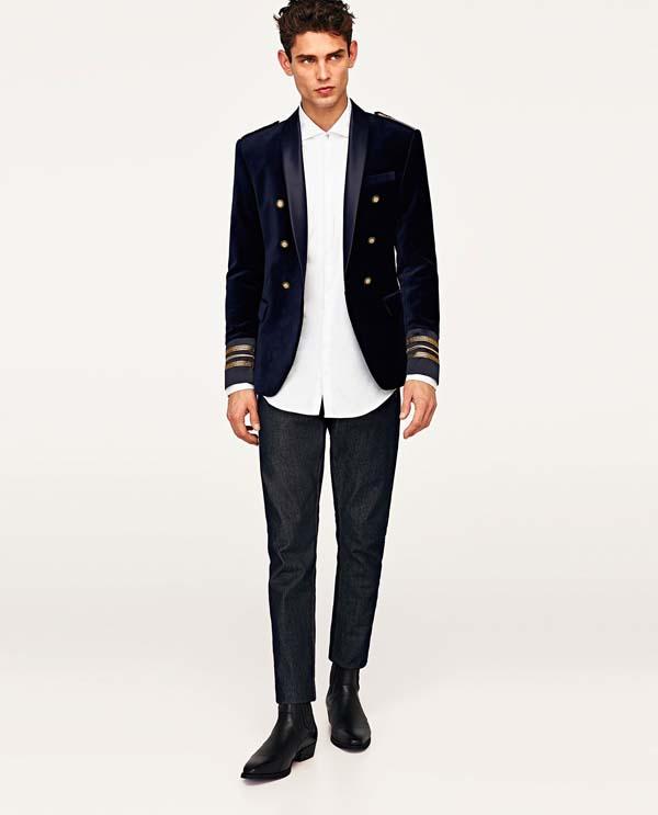 мужской бархатный пиджак 2018 фото