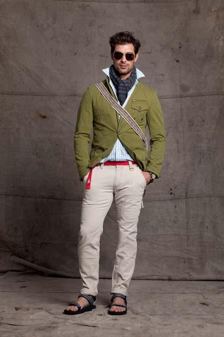белые брюки карго мужские фото