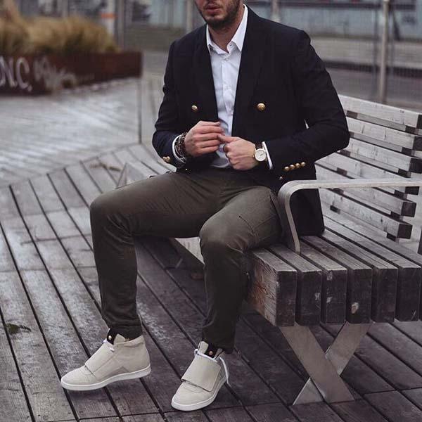 модный мужской лук 2018 фото