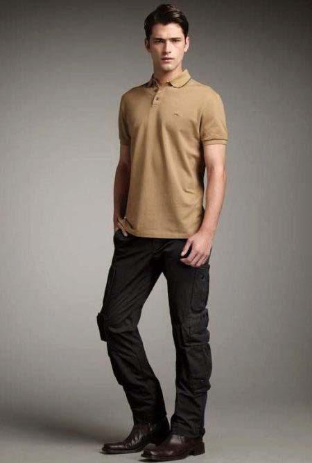 черные мужские штаны карго фото