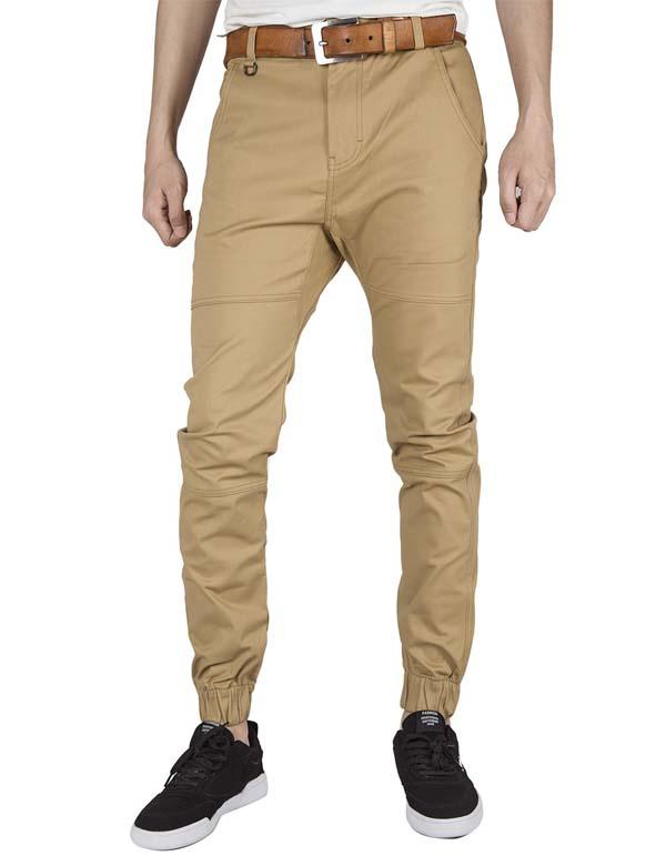 брюки чинос бежевые