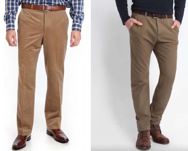 как выглядят мужские штаны слаксы