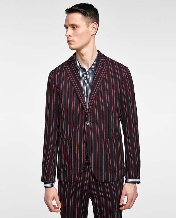 пиджак в полоску 2018