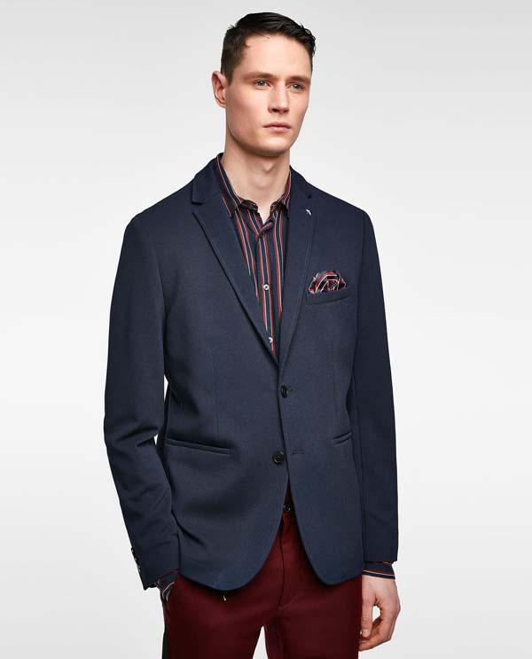 синий мужской пиджак 2018