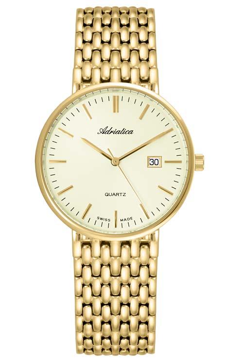 Adriatica золотые часы