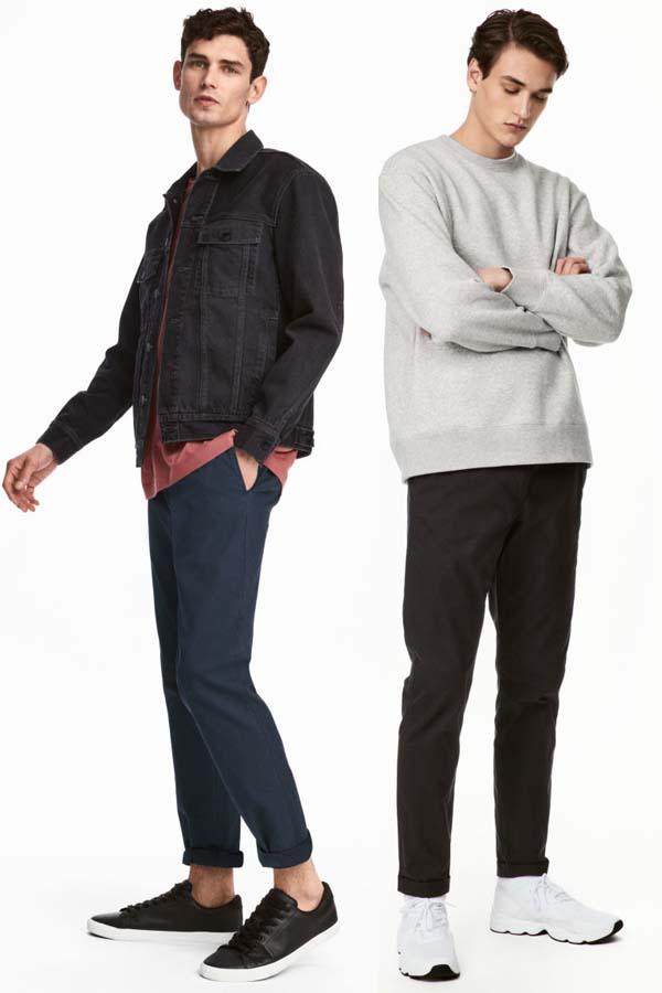 мужские брюки 2018 фото