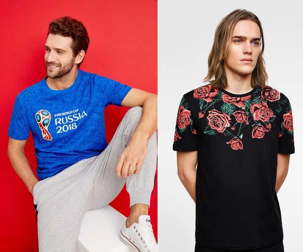 мужские футболки 2018