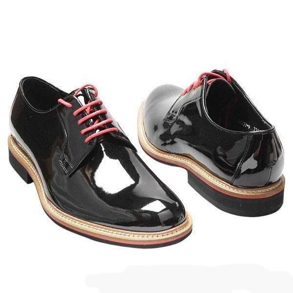 мужские лаковые туфли