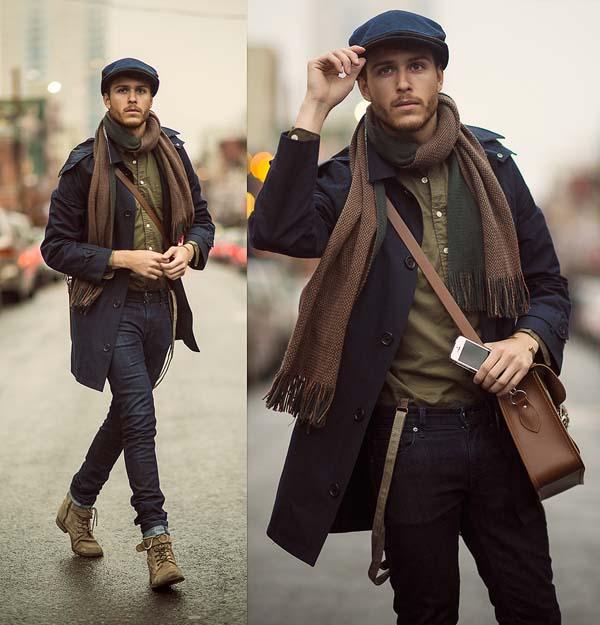 ретро стиль в мужской одежде