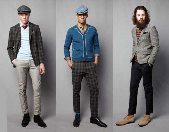 мужская одежда ретро стиль