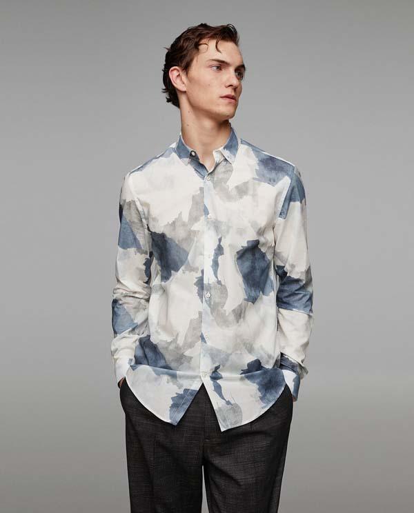 креативная мужская рубашка 2018