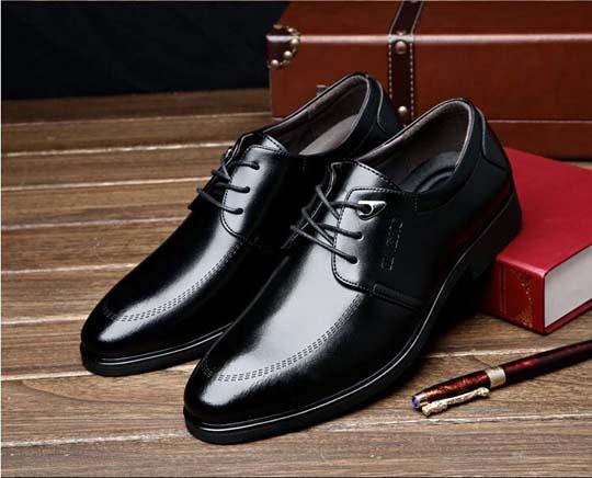 черные мужские натуральные туфли