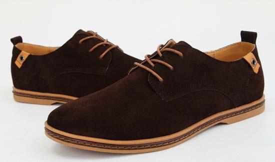 туфли из нубука мужские