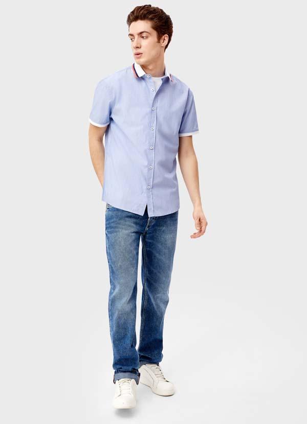 модная мужская рубашка 2018 остин