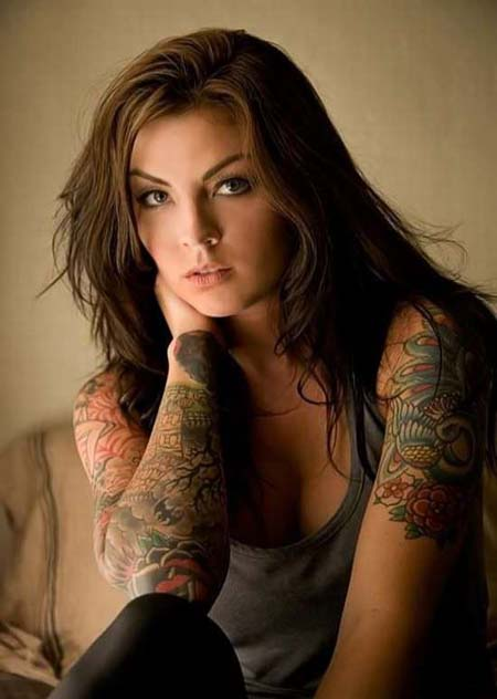 татуировка женщина