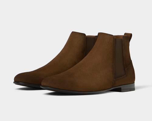 мужские замшевые ботинки 2019
