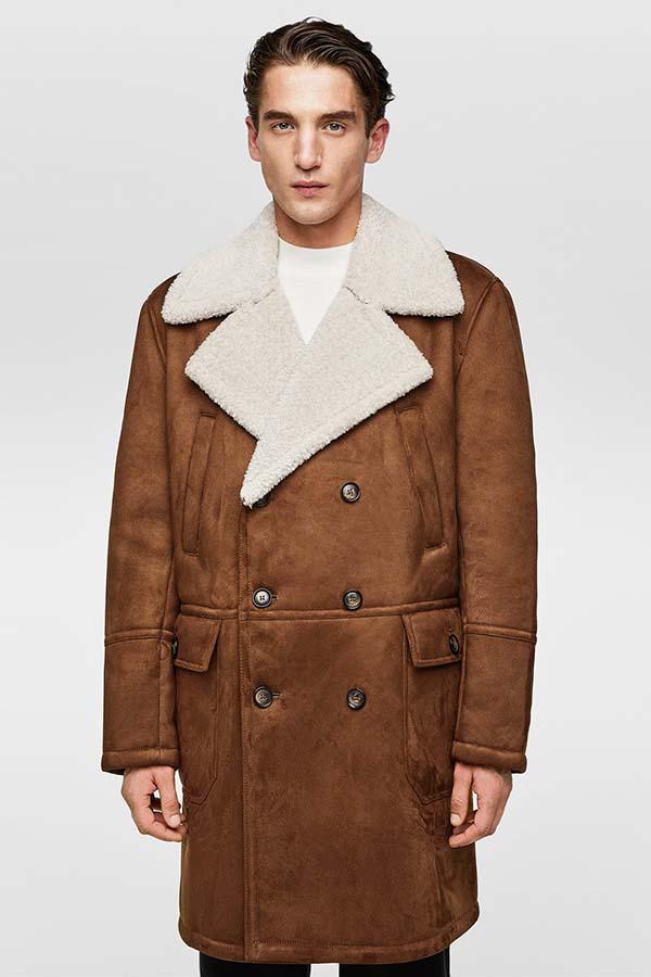 мужское пальто 2019 фото