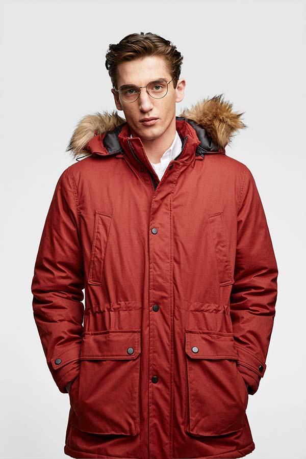 мужская рыжая куртка 2019 фото