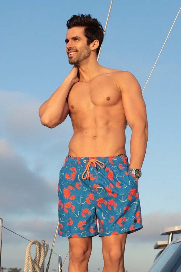 брендовые пляжные шорты 2019