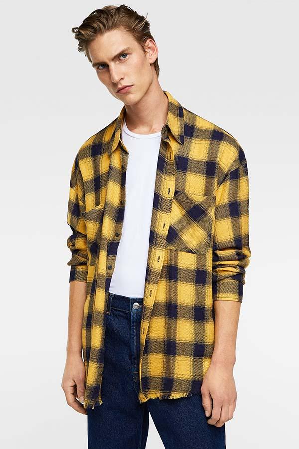 мужская рубашка зима 2019 фото