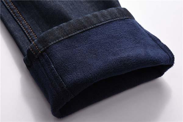 джинсы на флисе фото