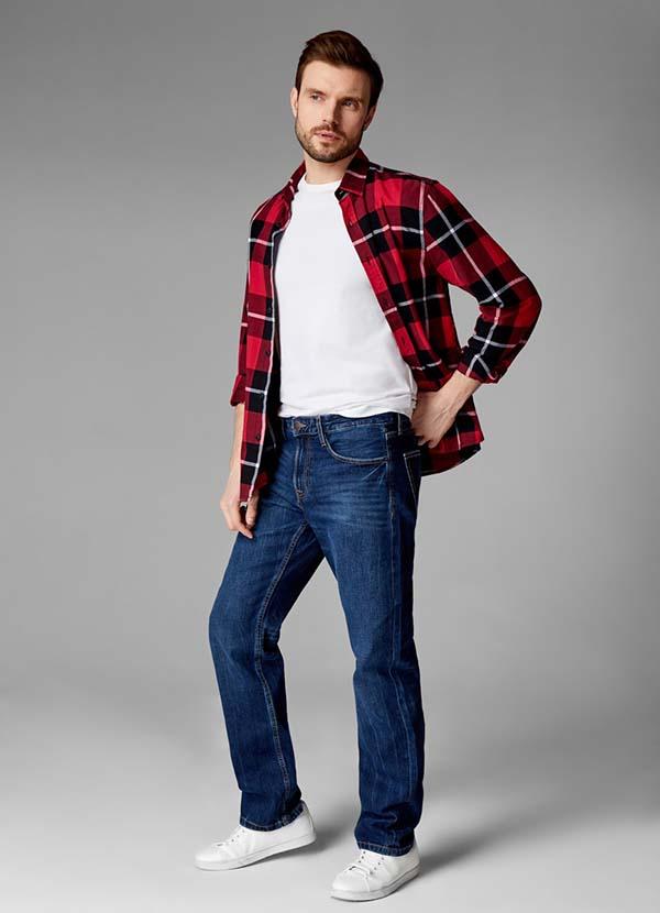 прямые джинсы 2019 фото
