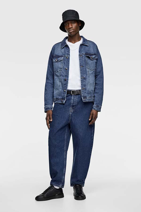 мужские широкие джинсы 2019